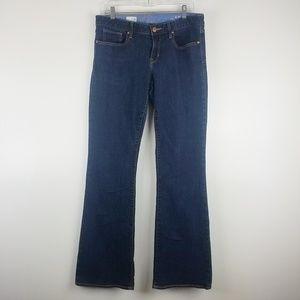 GAP Curvy Bootcut Jeans Mid-Rise Dark Wash